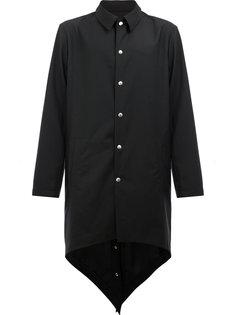 пальто с металлической отделкой Moohong