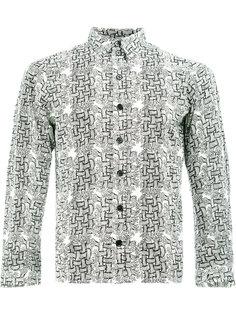рубашка с узором Christopher Nemeth