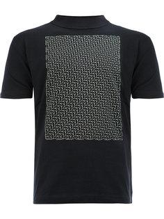 футболка с волнистым узором Christopher Nemeth