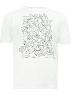 футболка с узором из веревок Christopher Nemeth