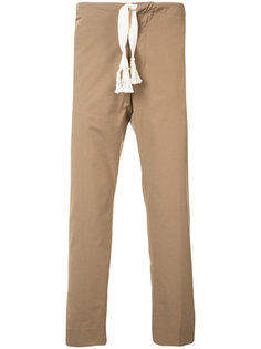 брюки со стяжкой Maison Margiela