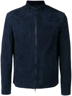 замшевая куртка на молнии Loro Piana