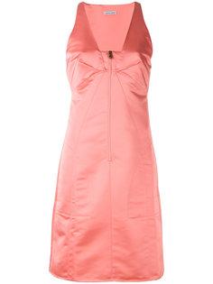 атласное платье Vestit Tomas Maier