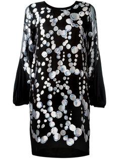 платье с узором из кругов Tsumori Chisato