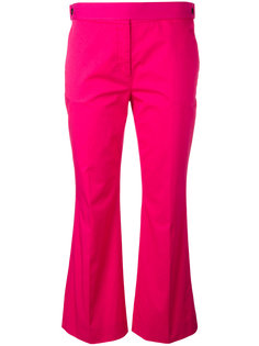 укороченные расклешенные брюки Nº21