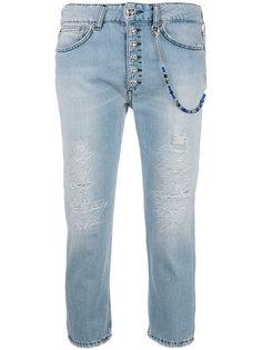 укороченные джинсы Dondup