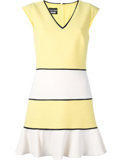 полосатое платье Boutique Moschino