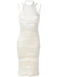 трикотажное платье крючком Esteban Cortazar