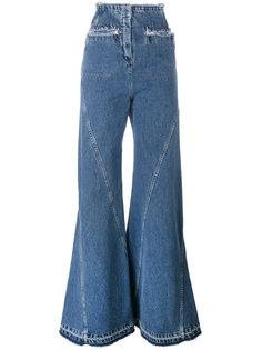 расклешенные джинсы с завышенной талией Esteban Cortazar