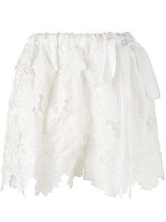 кружевные шорты Rochas