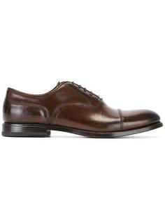классические туфли оксфорды W.Gibbs
