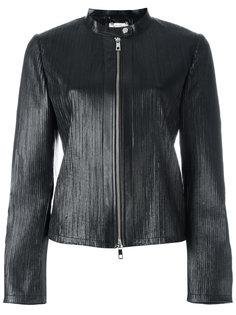куртка на молнии с отделкой в рубчик Desa Collection