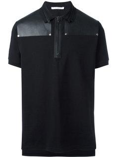 рубашка-поло на молнии Givenchy