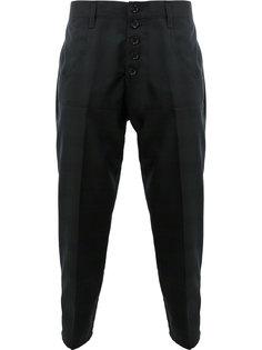 укороченные строгие брюки Christopher Nemeth