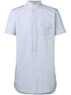 рубашка с необработанной горловиной Lardini