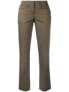 укороченные расклешенные брюки Dondup