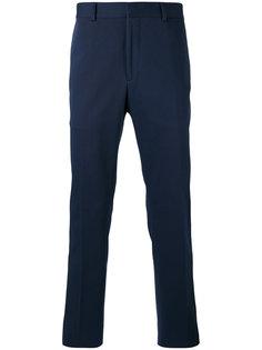брюки с вышивкой Fendi