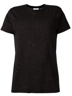 футболка с рваными деталями Iro