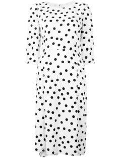 платье шифт в горох Dolce & Gabbana