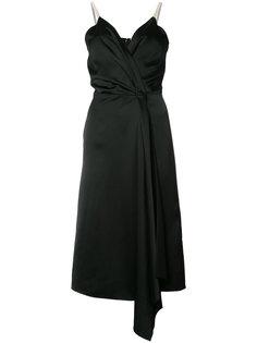 платье с V-образным вырезом Victoria Beckham