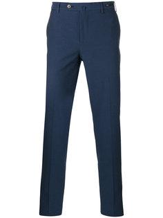 укороченные зауженные брюки Pt01