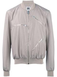 куртка-бомбер с молниями  Les Hommes Urban
