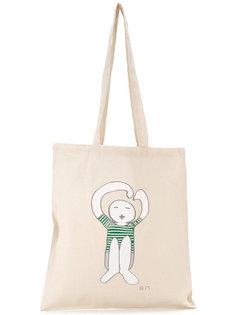 сумка-шоппер с логотипом Société Anonyme