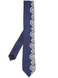 """галстук с узором в стиле """"барокко"""" Versace"""