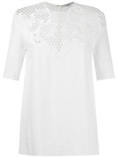 блузка с перфорацией Stella McCartney