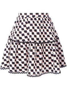 юбка мини Post-It Kenzo