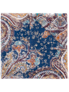 декорированный платок с узором пейсли Etro