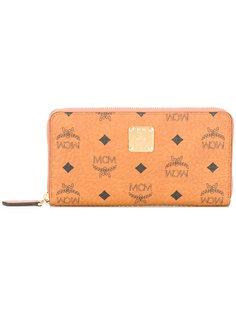 кошелек с принтом логотипа MCM