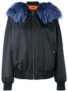 куртка бомбер с меховым воротником Mr & Mrs Italy