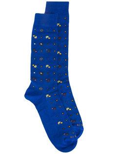 носки с принтом Etro