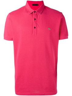 рубашка-поло с вышитым логотипом Etro