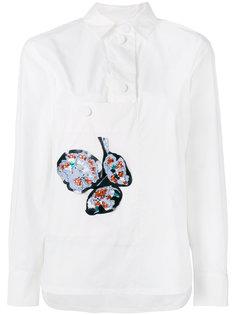 рубашка с аппликацией Marni