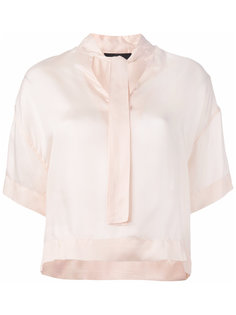 блузка с мягким бантом  Diesel