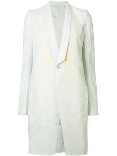 пальто с отделкой в виде паутины Rick Owens
