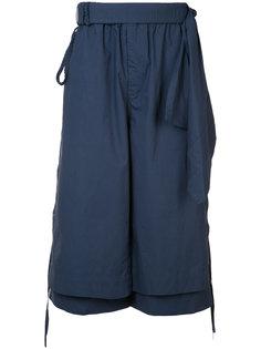 многослойные укороченные брюки Craig Green
