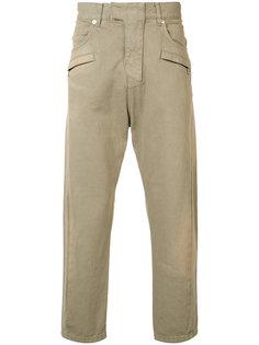 укороченные свободные брюки  Balmain