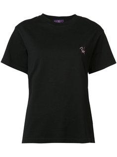 футболка с принтом Pink Ys Y`s
