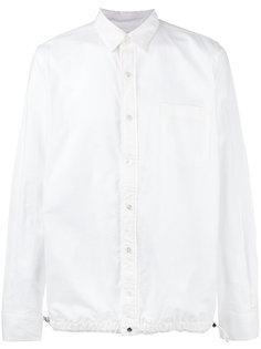 рубашка на затяжках Sacai