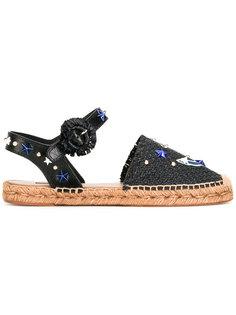сандалии с заплаткой в виде якоря Dolce & Gabbana