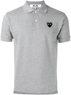 рубашка-поло с нашивкой Comme Des Garçons Play
