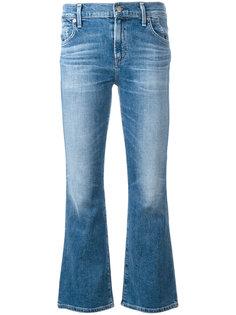 укороченные расклешенные джинсы Citizens Of Humanity