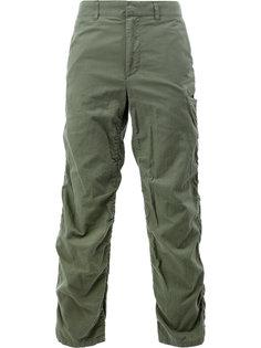 брюки с присборенными деталями Undercover