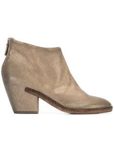 ботинки на наборном каблуке Del Carlo