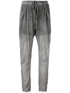 зауженные брюки на шнурке Lost & Found Ria Dunn