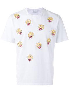 футболка с принтом смайликов Jimi Roos