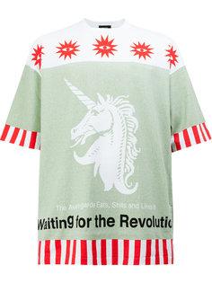 свободная футболка с принтом Undercover